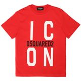 Dsquared2 Kids Icon t-shirt baby - Rood