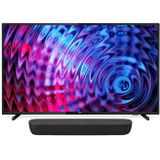 Philips Voordeelset LED Smart TV 32 inch + Panasonic 2.0 Soundbar