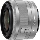 Canon EF-M 15-45mm f/3.5-6.3 IS STM zilver Zoomlens