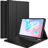 Just in Case Samsung Galaxy Tab S6 Premium Toetsenbord Hoes QWERTY Zwart