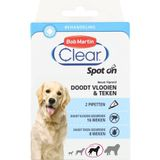 BOB MARTIN CLEAR SPOT ON HOND LARGE 2 PIPETTEN