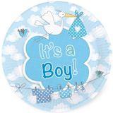 Bordjes geboorte jongen 'it's a boy'