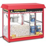Royal Catering Popcorn Machine rood
