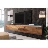 TV-Meubel Dixon - Old wood - 180 cm