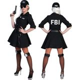 FBI agente zwart maat 36-38