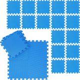 relaxdays fitness matten set - schuimstof - beschermmat - sportmat - puzzelmat - vloermat