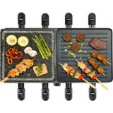 Bourgini gourmet/raclette 8 persoons