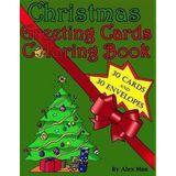 Christmas Greeting Cards Coloring Book