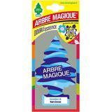 Arbre Magique Luchtverfrisser 12 X 7 Cm Jasmine & Narcis Blauw