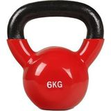 RS Sports Kettlebell - 6 kg - Rood