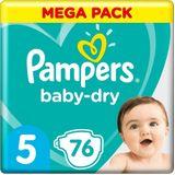 Pampers Baby Dry Maat 5 - 76 Luiers