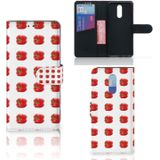 Nokia 3.2 Book Cover Paprika Red