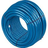 Uponor Uni pipe plus leiding / buis Thermo 16x2mm gesoleerd ISO-4 (S4) 4mm isolatie blauw 100m 1063553