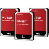 WD Red WD40EFAX 4TB 3-pack - RAID 0, 1 of 5