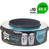 Tommee Tippee Sangenic Twist & Click Navulcassette - 10 st