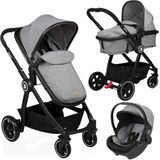 Kinderwagen Baninni Otto Dusty Gray (incl. autostoel)