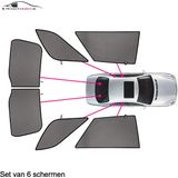 Ford Mondeo   wagon   bouwjaar 2000 t/m 2007   CarShades