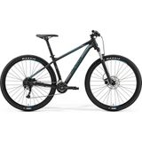 Merida Big Nine 200 S Matt Black Silver/Blue