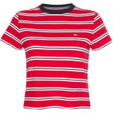 Tommy Jeans T-shirt Rood DW0DW10180 - rood