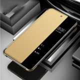 Samsung Galaxy S10 - Smart View LED Flip Case Cover Hoesje Goud