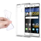 10-Pack Transparant Clear Case Cover Silicone TPU Hoesje Huawei P10
