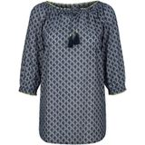 Blouse Dress In Blauw