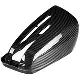 Carbon Fiber Side Car Mirror Cover Replacement For Mercedes Benz W204 C250 C300 C63