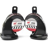 130dB Snail Air High Low Loud Horn Voor Motorboot Bootwagen Van Vrachtwagen