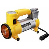 Draagbare DC 12 V Air 100PSI 10Amp Luchtcompressor Auto Enkele Cilinder Band Inflator met LED Licht