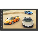 7 Inch 2 DIN voor Android 8.1 Auto Stereo Radio 1 + 16G Quad Core MP5-speler 2.5D Touchscreen WiFi GPS AM bluetooth
