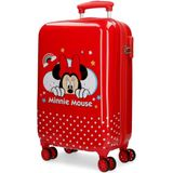 Minnie Mouse koffer 32 liter rood