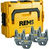 Rems Perstang Set V 15 - 22 - 28 - 35 in L-Boxx voor Rems Radiaalpersmachines Mini-press