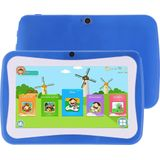 M755 Kids Education Tablet PC, 7,0 inch, 1 GB + 16 GB, Android 5.1 RK3126 Quad Core tot 1,3 GHz, 360 graden menurotatie, WiFi (blauw)