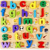 Baby Kids Houten puzzels Speelgoed Educatief Jigsaw Board Puzzle Toys Cognitive Plate