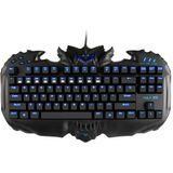 Aula Destroyers Multimedia Key Wired USB Gaming Keyboard met LED-achtergrondverlichting