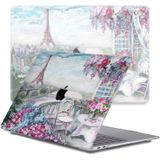 Lunso - cover hoes - MacBook Air 13 inch (2020) - Paris Painting