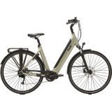 Qwic Premium I MD9 Elektrische Damesfiets L Timber Green