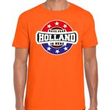 Have fear Holland is here / Holland supporter t-shirt oranje voor heren 2XL