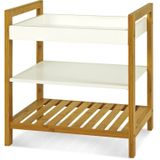 Etagere Wit Bamboo