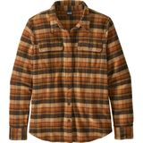 Patagonia Women'  Flannel Fjord Blouse brown