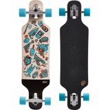 OXELO Longboard Drop Mini Core blauw