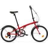 Vouwfiets 120 rood