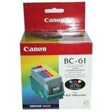 Canon BC-61 ink cartridge color