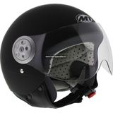 MT Urban Retrohelm mat zwart