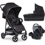 Hauck Rapid 4 Plus Trioset Kinderwagen - Caviar/black