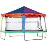 Jumpking Trampoline-tent Canopy Circus Ovaal 2,44 X 3,51 Meter