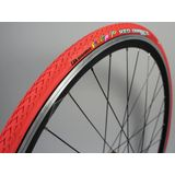 Duro Fixie Pops Vouwband 700x24C, rood Bandenmaat 24-622 | 700x24C