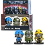 Transformers The Last Knight Metal Collectible Figure - Set B 3-Pack