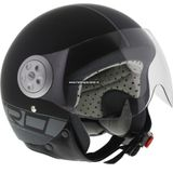 MT Urban Retro helm mat zwart