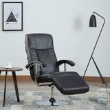 Fauteuil kunstleer (Incl LW anti kras viltjes) TV Fauteuil - Loungestoel - kruipstoel - Relax stoel ligstoel - Lounge Bankje - Lounge Fauteuil